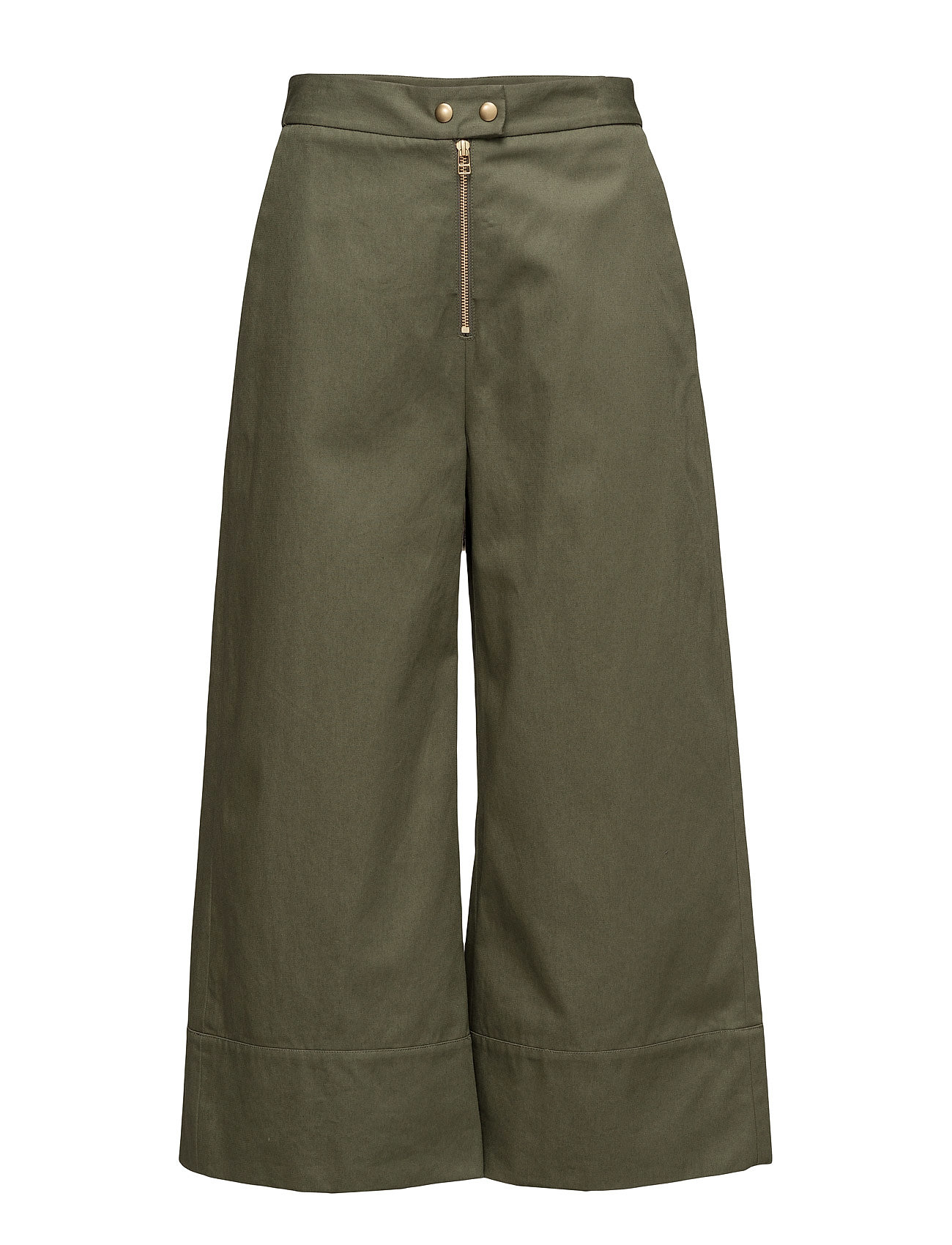 t by alexander wang Garment washed lightweight cotton cropped pants på boozt.com dk