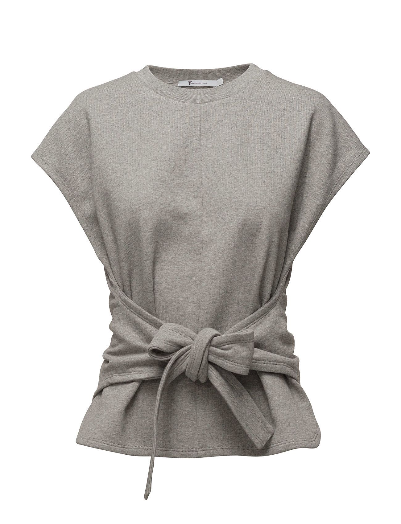 t by alexander wang S/s wrap front top fra boozt.com dk