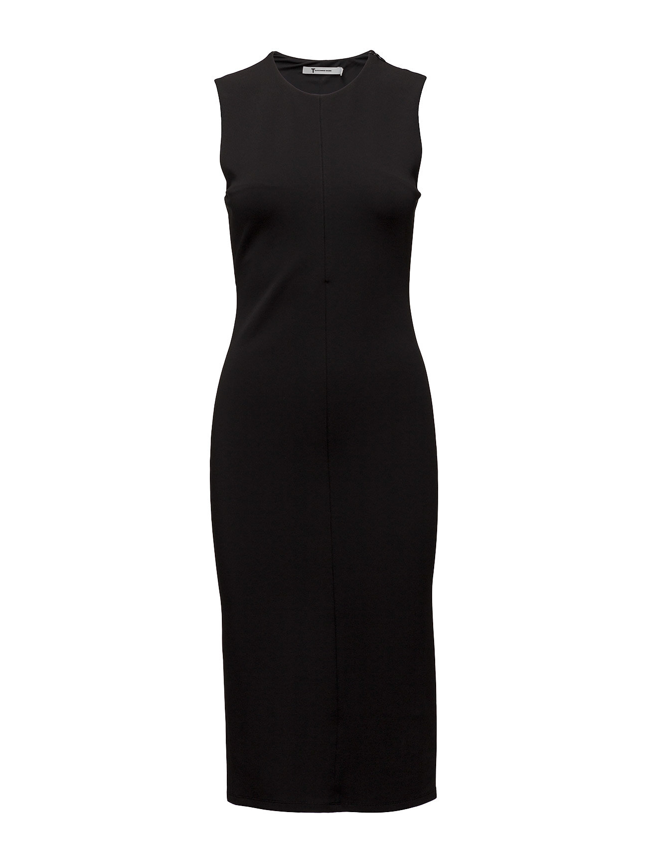 t by alexander wang Stretch faille ponte slvls dress w/ zipper på boozt.com dk