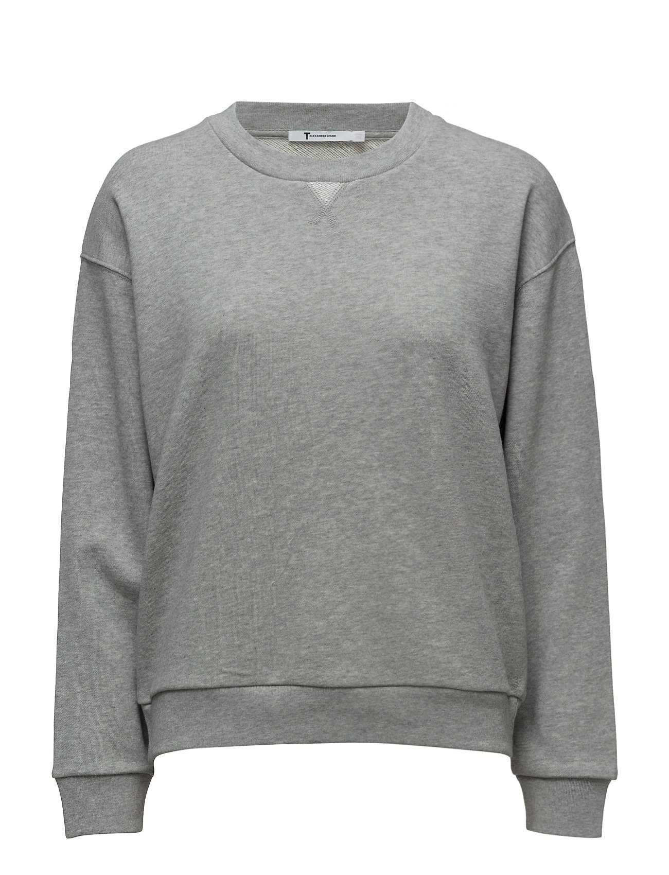 t by alexander wang Soft french terry sweatshirt på boozt.com dk