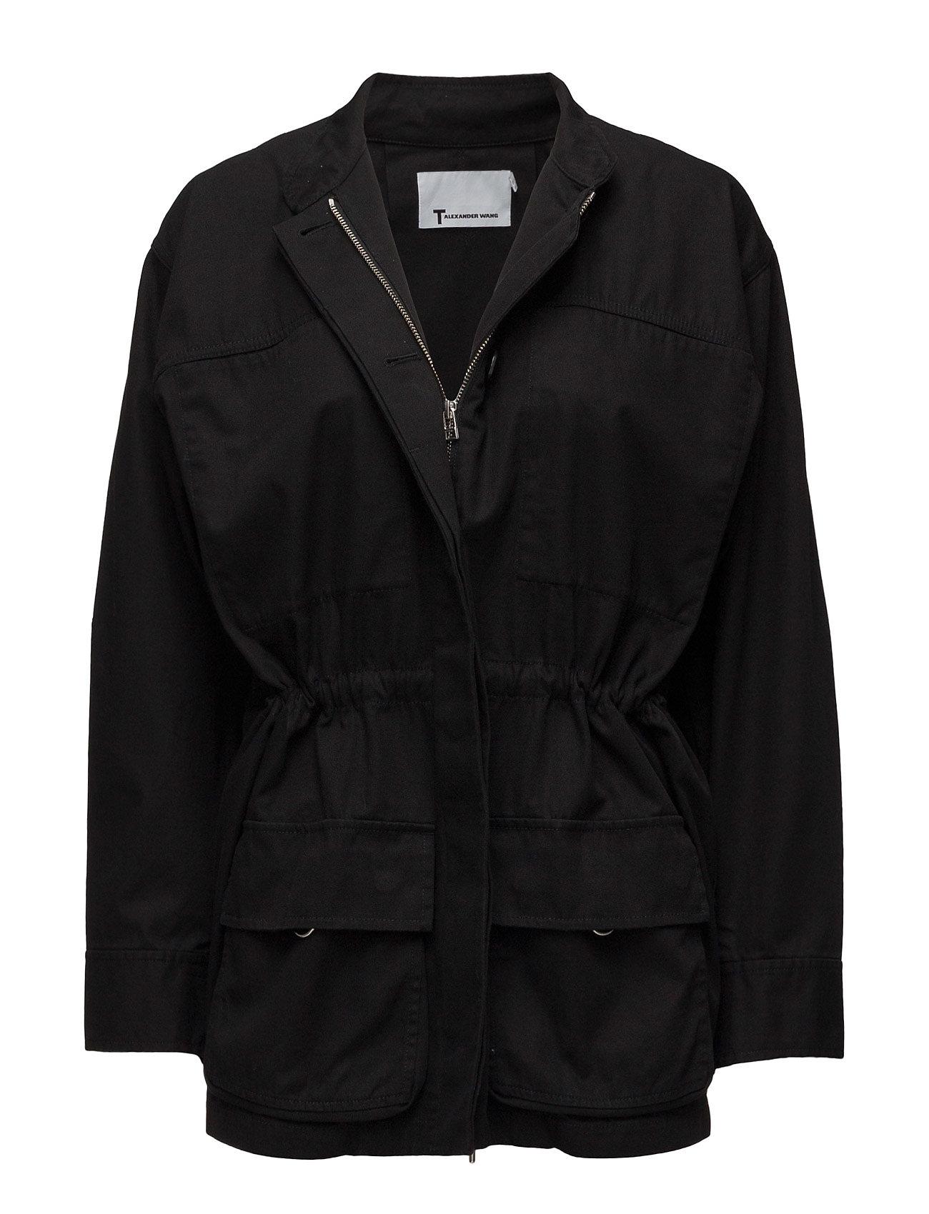 t by alexander wang – L/s coat w/ drawcord på boozt.com dk