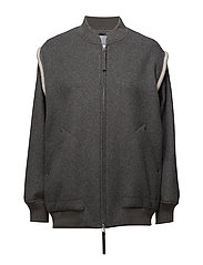T By Alexander Wang - Double Faced Wool Jacket