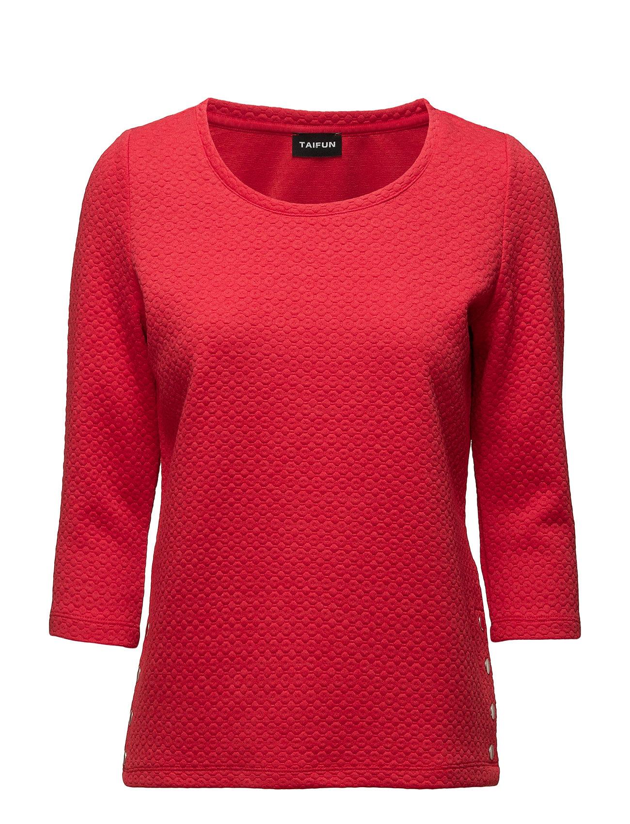 T-Shirt 3/4-Sleeve R Taifun Striktrøjer til Kvinder i