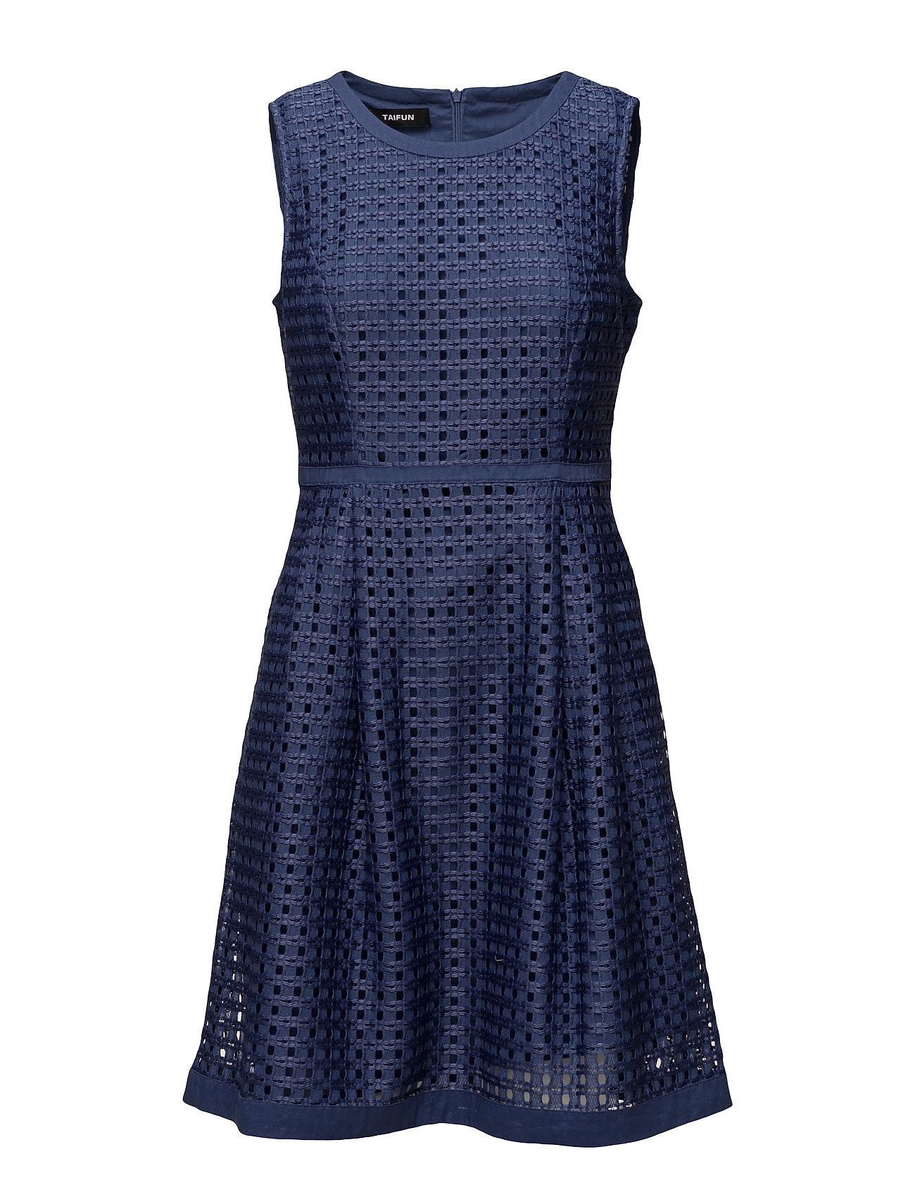 Dress woven fabric fra taifun på boozt.com dk