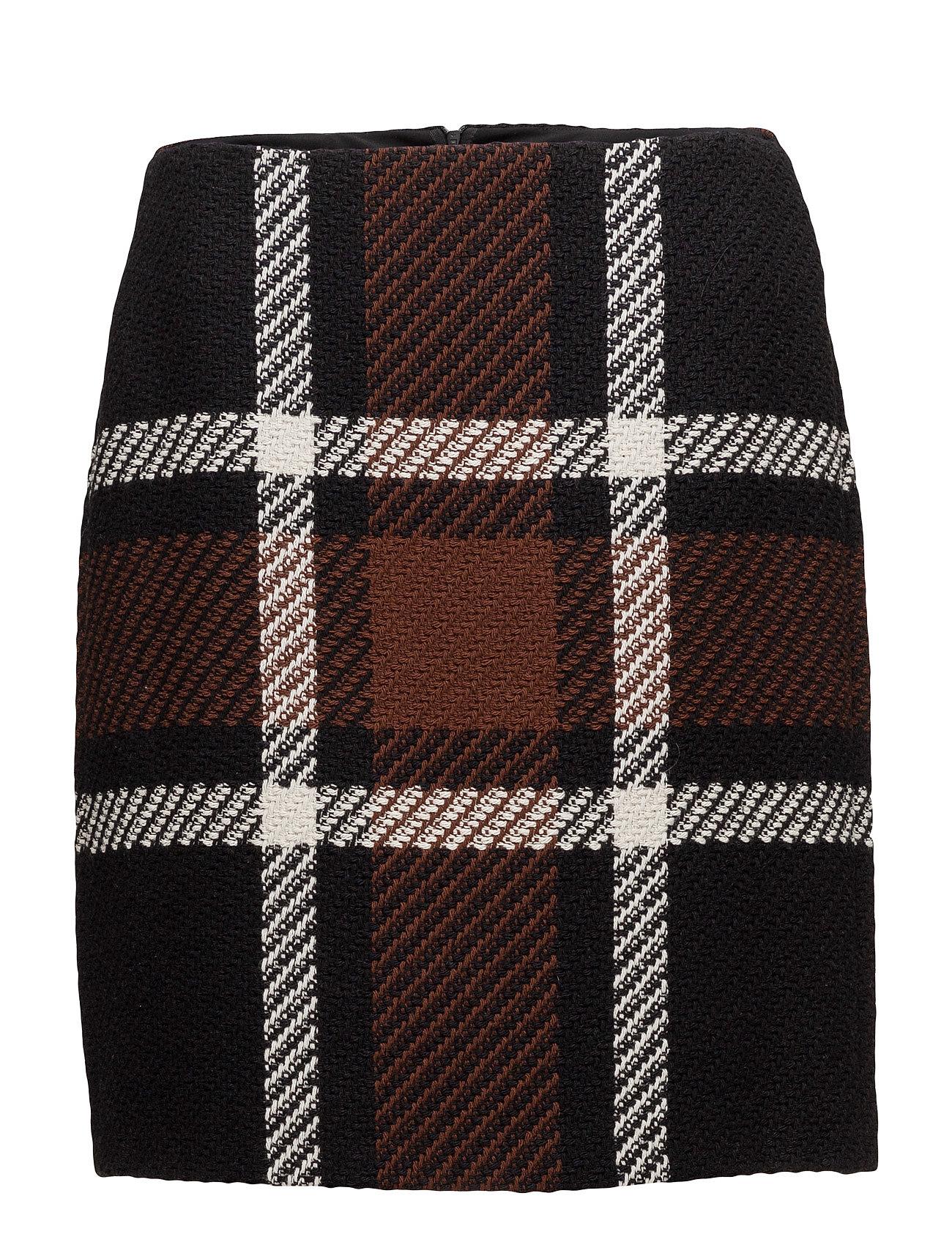 Skirt short woven fa fra taifun på boozt.com dk