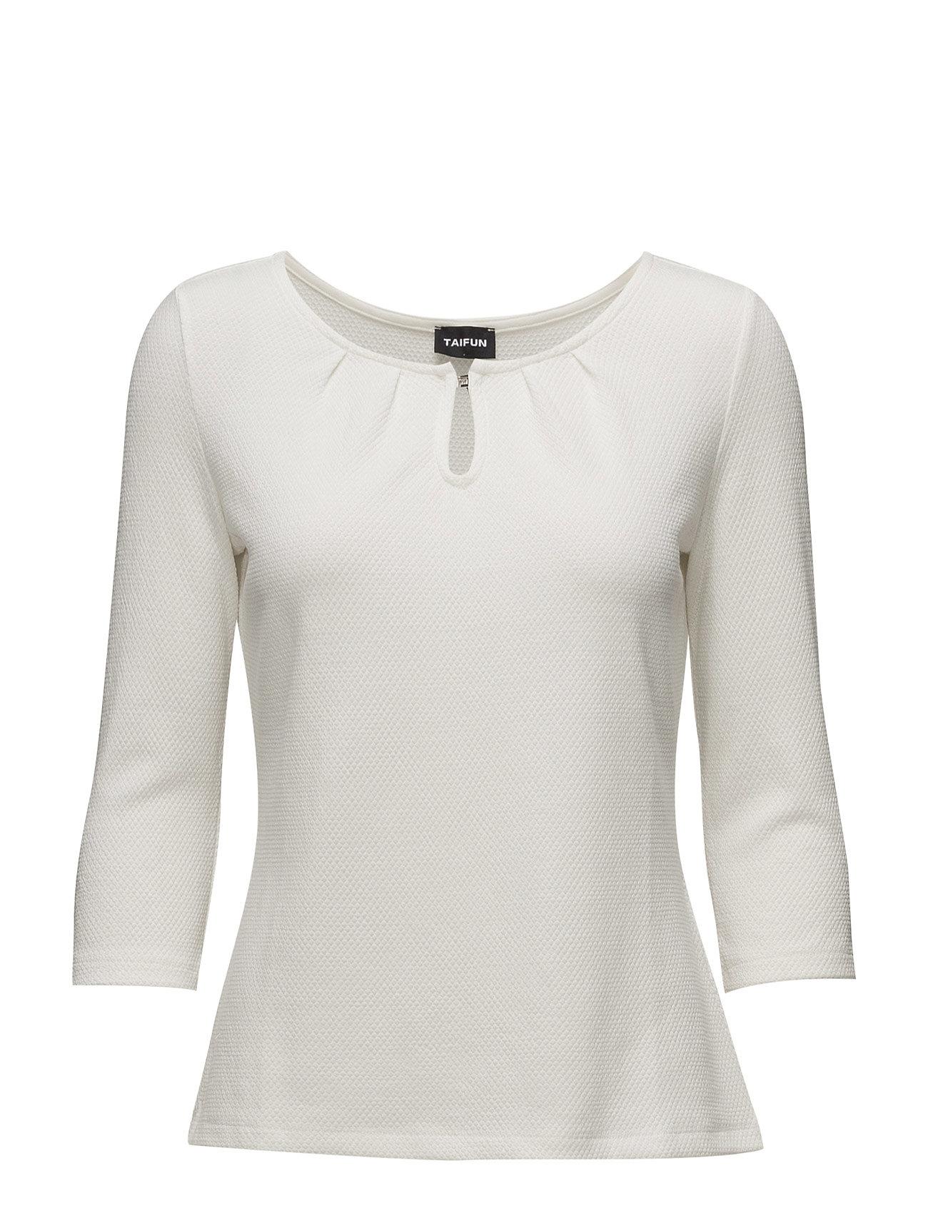 taifun – T-shirt 3/4-sleeve r på boozt.com dk