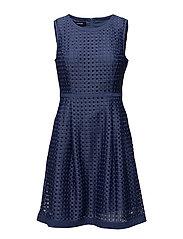 DRESS WOVEN FABRIC - SAPPHIRE BLUE