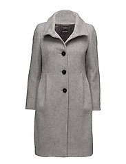 COAT WOOL - ALU-MELANGE