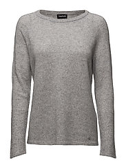 PULLOVER LONG-SLEEVE - GRANITE-MELANGE