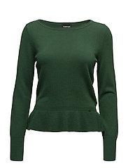 PULLOVER LONG-SLEEVE - PINE GREEN