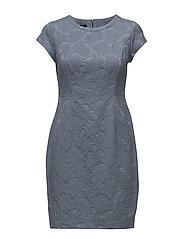 DRESS WOVEN FABRIC - POWDER BLUE