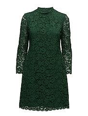 DRESS WOVEN FABRIC - PINE GREEN