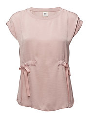BLOUSE WITHOUT SLEEV - MISTY ROSE