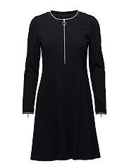 DRESS KNITTED FABRIC - MARINE
