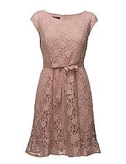 DRESS WOVEN FABRIC - MISTY ROSE