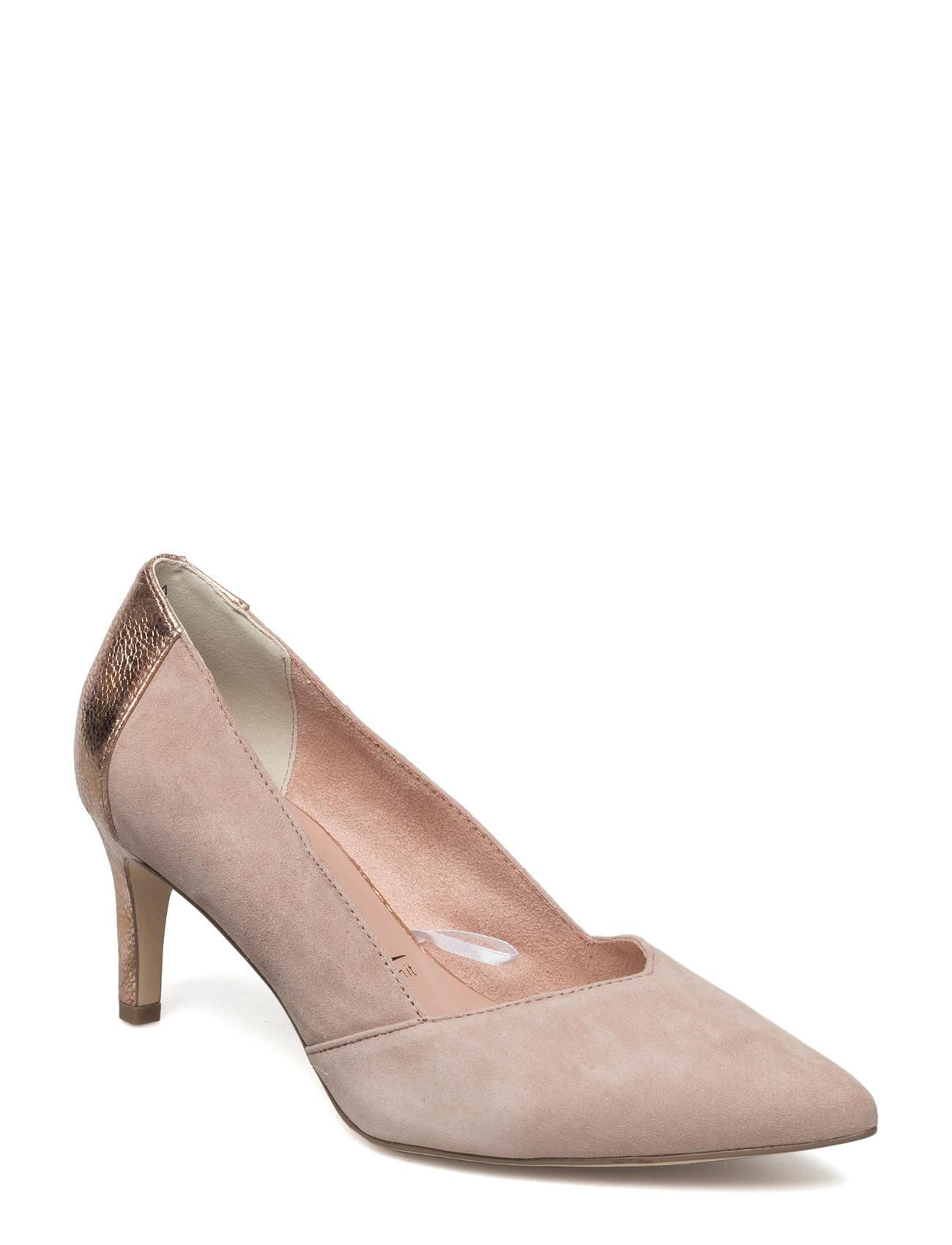 Woms Court Shoe - Cabbage Tamaris Stiletter til Damer i Old Rose