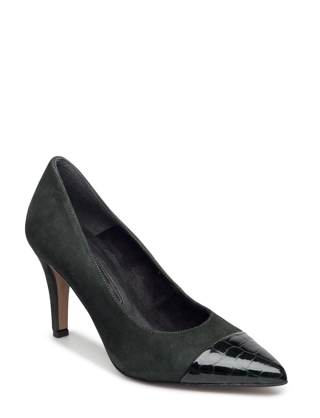 Woms Court Shoe - Ellen Tamaris Stiletter til Kvinder i Mursten