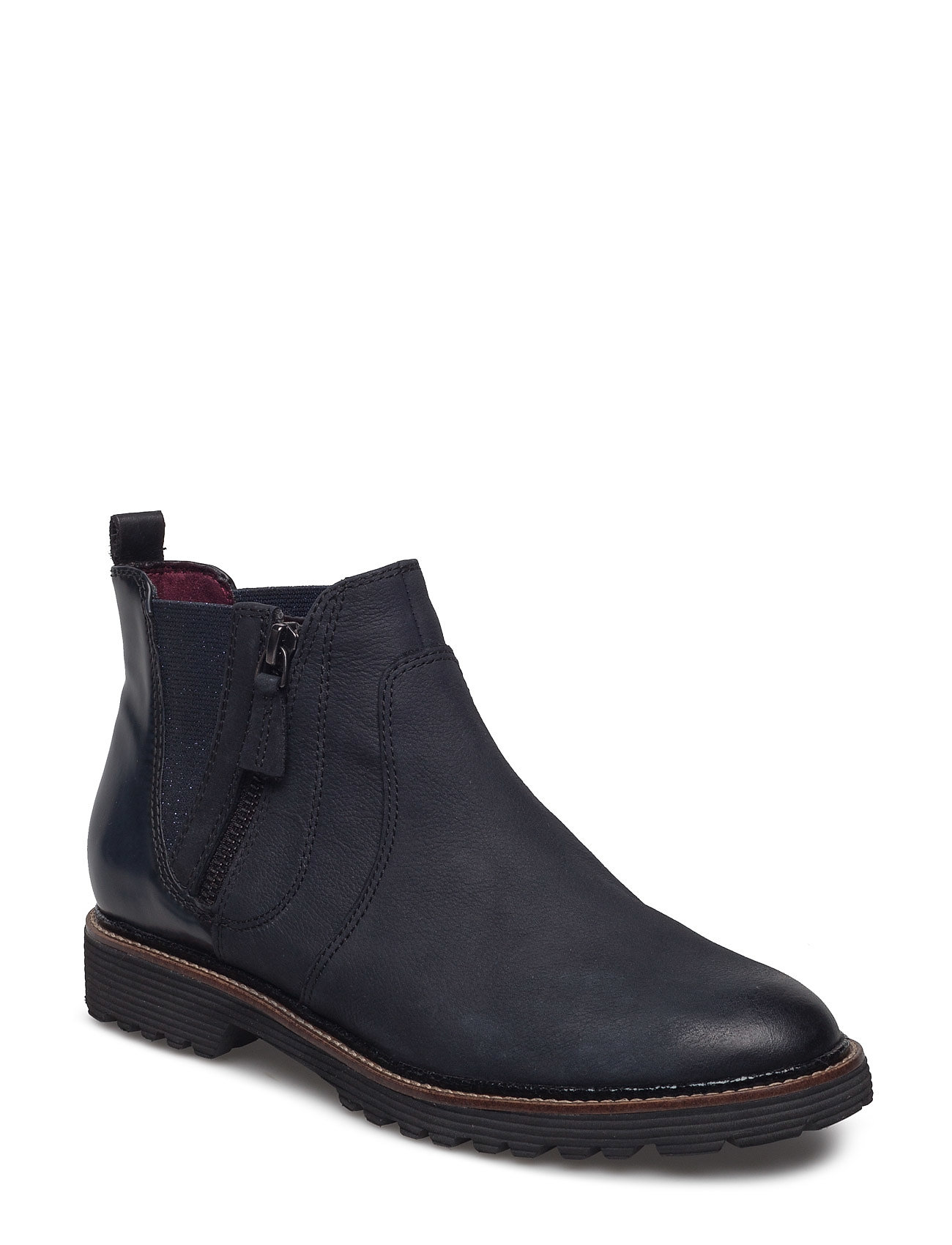 Woms Boots Tamaris Støvler til Damer i Navy blå