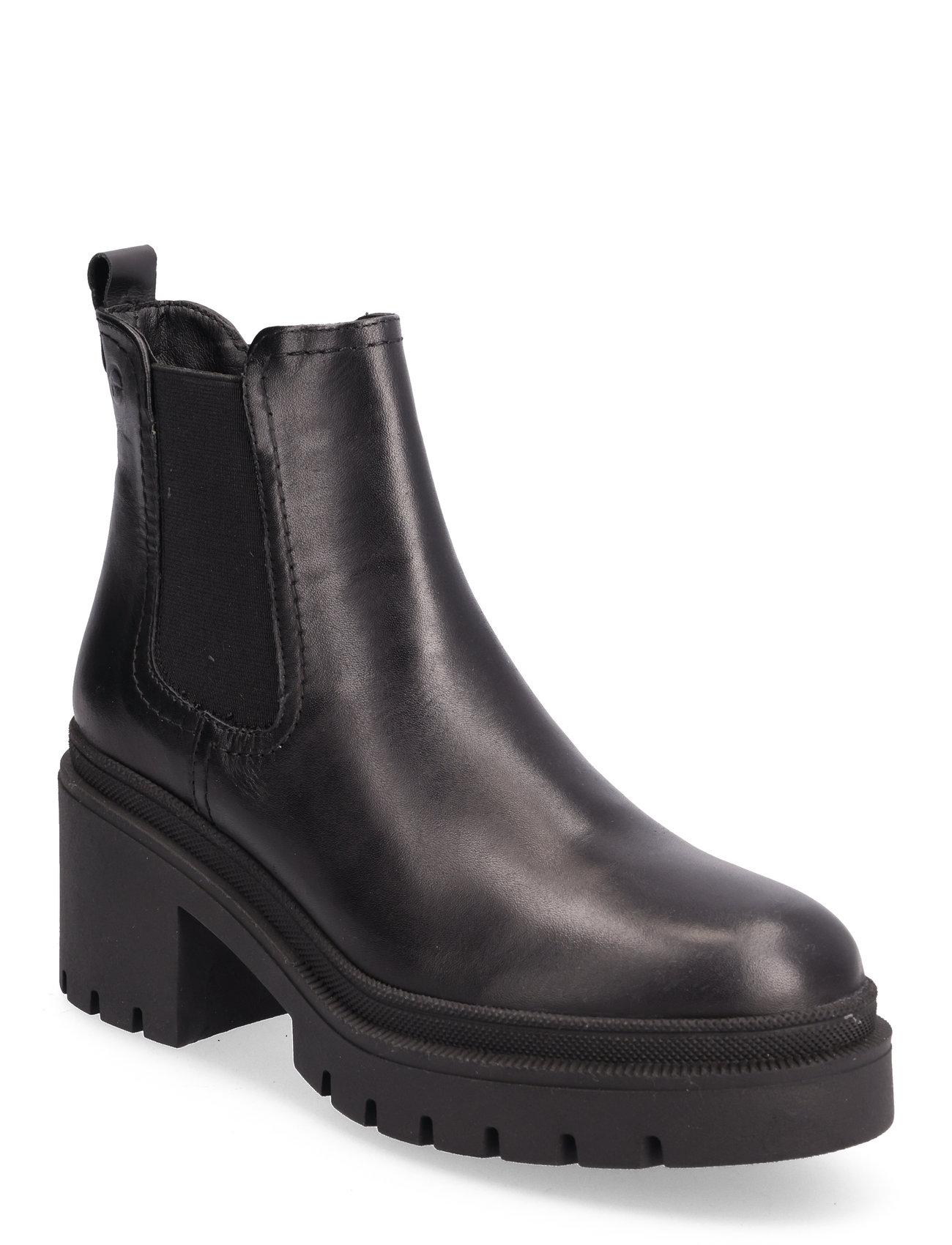Woms Boots Tamaris Støvler til Damer i Sort