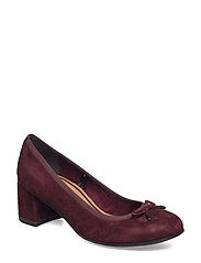 Woms Court Shoe - Rommy - BORDEAUX