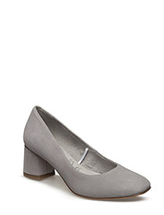 Woms Court Shoe - LIGHT GREY