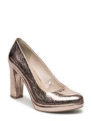 Woms Court Shoe - Lycoris - LT.ROSE CRACK