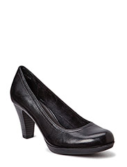 Woms Court Shoe - BLACK