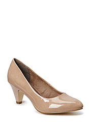Woms Court Shoe - NUDE PATENT