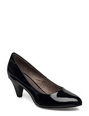 Woms Court Shoe - BLACK PATENT