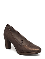 Woms Court Shoe - BRONCE