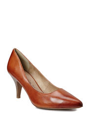 Woms Court Shoe - NUT
