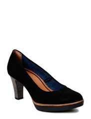 Woms CourtShoe - BLACK