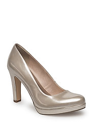 Woms Court Shoe - LIGHT GOLD