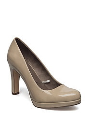 Pumps - Lycoris - CREAM PATENT