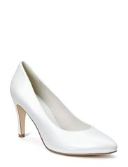 Woms Court Shoe - CHAMPAGNE