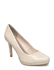 Woms Court Shoe - CREAM