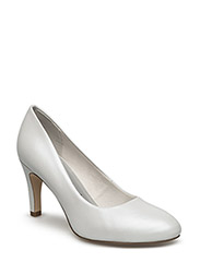 Woms Court Shoe - WHITE