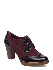 Woms Lace-up - Fee - BORDEAUX