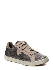 Woms Lace-up - LEOPARD GLAM