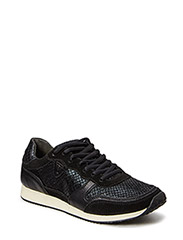 Woms Lace-up - BLK/BLK STRUCT