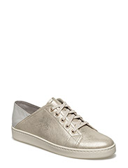 Woms Lace-up - PALE GOLD