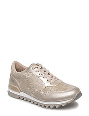 Woms Lace-up - LIGHT GOLD