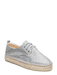 Woms Lace-up - SILVER GLAM