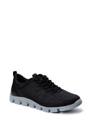 Woms Lace-up - BLACK UNI