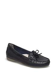Woms Slip-on - BLACK LEATHER