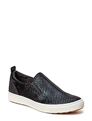 Woms Slip-on - BLACK STRUCT.