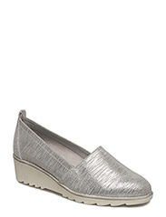 Woms Slip-on - SILVER METALL.