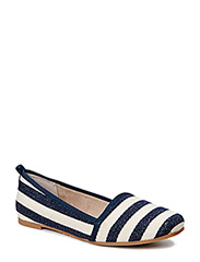 Woms Slip-on - NAVY STRIPES