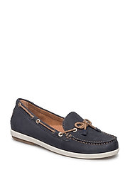 Woms Slip-on - NAVY/NATURE