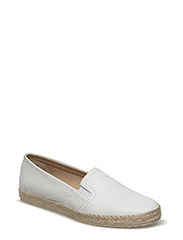Woms Slip-on - WHITE LEATHER